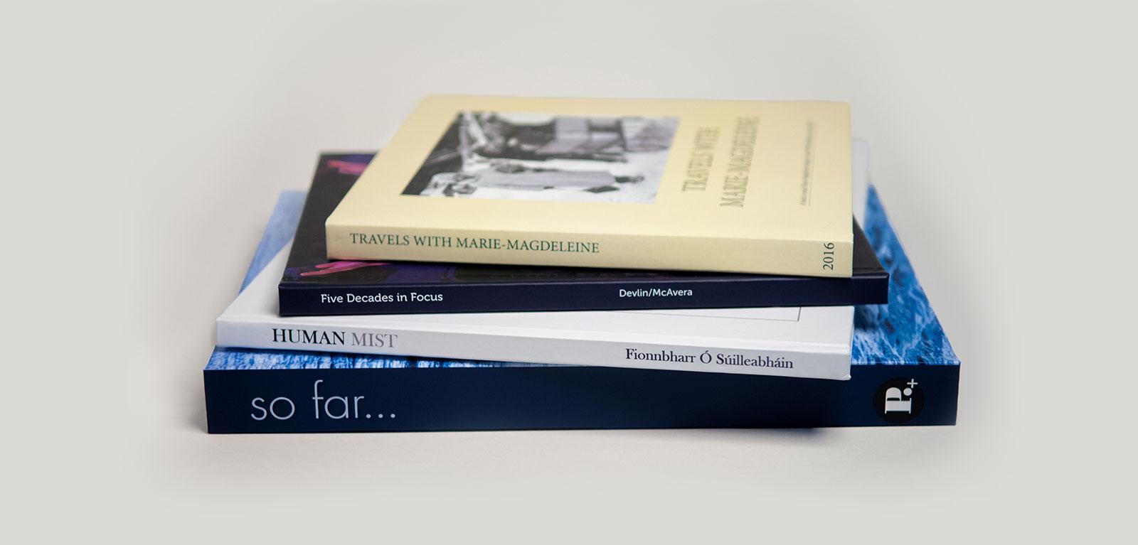 four handmade books
