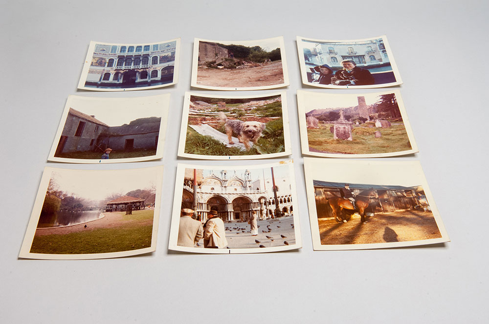 1970s square photo prints