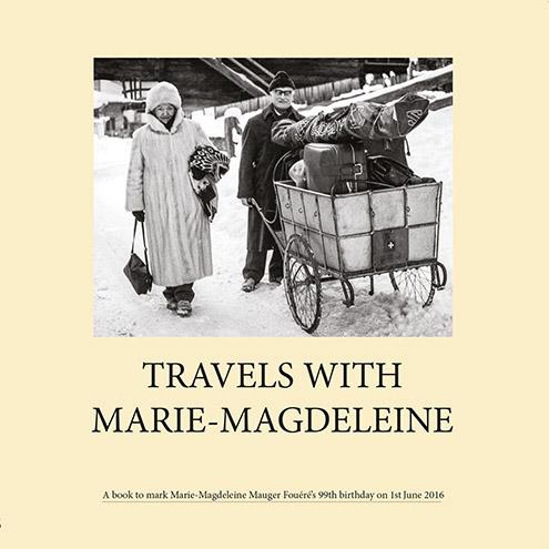 beautiful cover of memory/travel book
