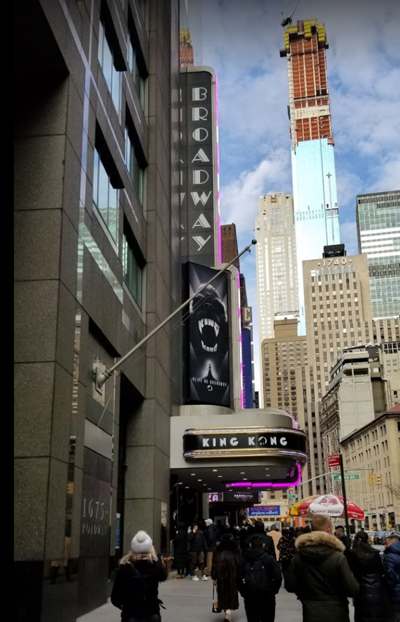The Broadway Theatre NYC in 2018