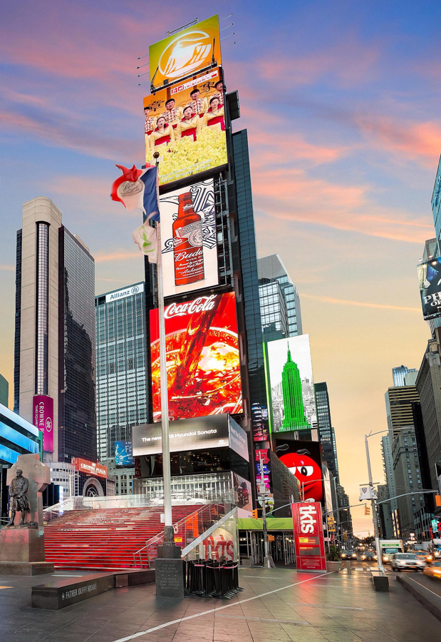 Times Square NYC in 2018