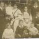 19th century family photo quite damaged needing retouching